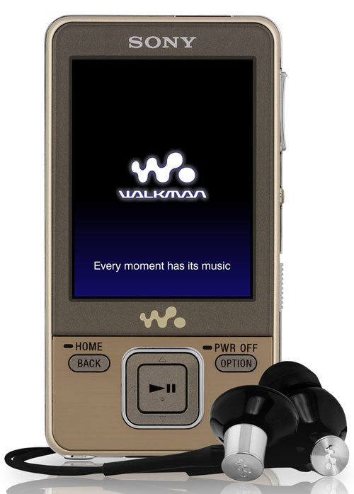 Flash - плеер Sony Walkman NWZ-A826N