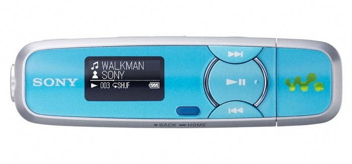 Flash - плеер Sony Walkman NWZ-B133FL