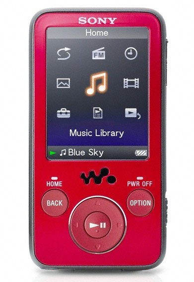 Flash - ����� Sony Walkman NWZ-E438FR