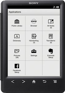 ����������� ����� Sony Reader PRS-T3