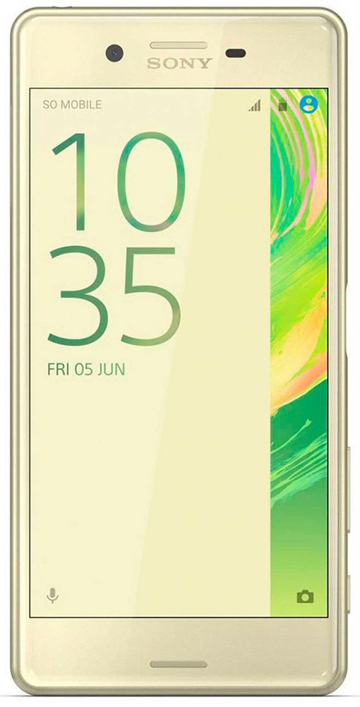 Мобильный телефон Sony Xperia X Performance Dual Lime Gold