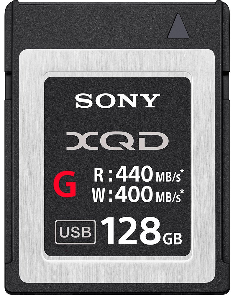 Карта памяти Sony XQD G Series 128Gb (QD-G128E) фото