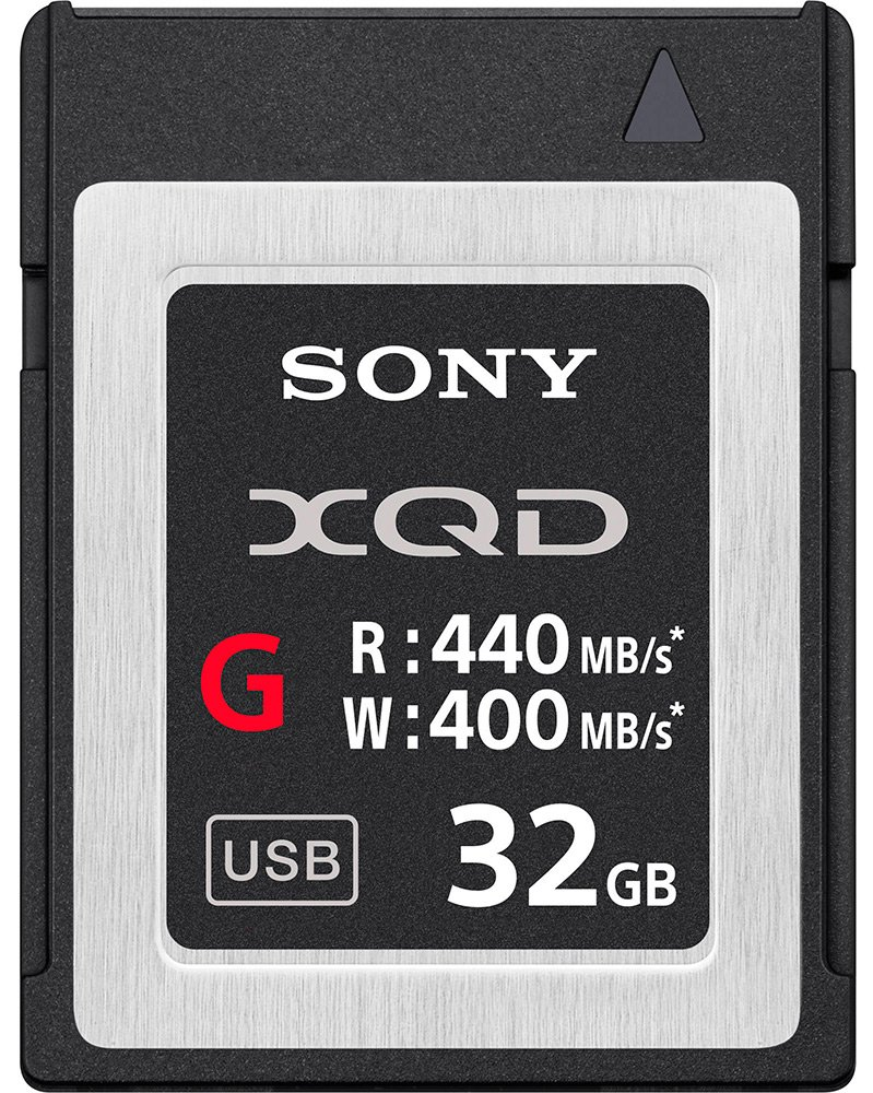 Карта памяти Sony XQD G Series 32Gb (QD-G32E)