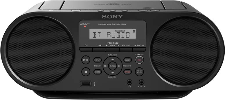 Стереомагнитола Sony ZS-RS60BT