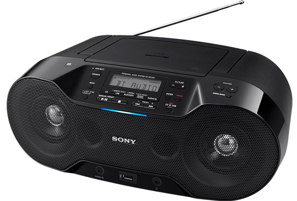 Стереомагнитола Sony ZS-RS70BT