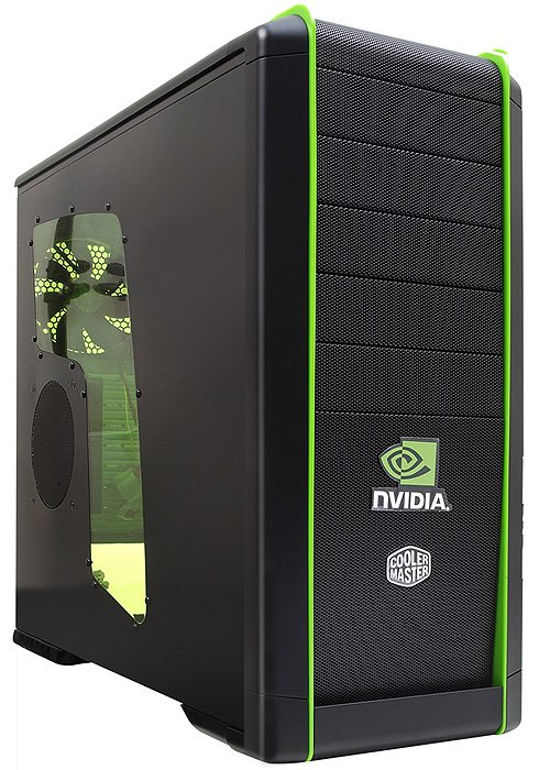 Корпус для компьютера Cooler Master CM 690 Nvidia Edition (NV-690C-KWN1-GP)