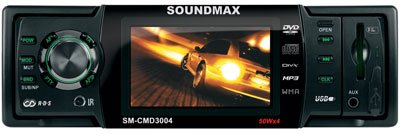 Автомагнитола Soundmax SM-CMD3004