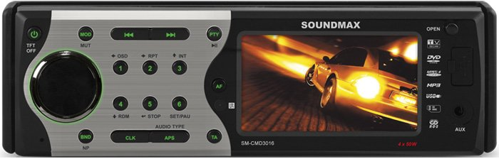 Автомагнитола Soundmax SM-CMD3016