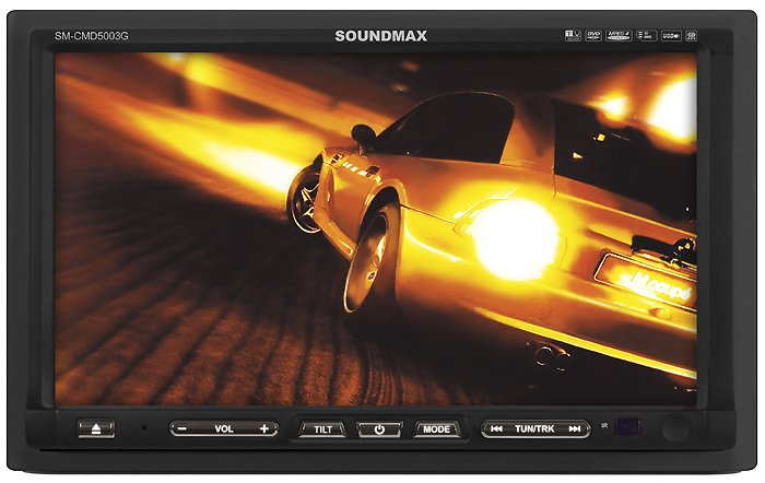 Автомагнитола Soundmax SM-CMD5003G