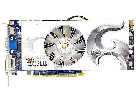 Видеокарта Sparkle SXS250512D3-NM GeForce GTS250 512Mb 256bit