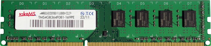 ������ ������ takeMS 114392 DDR3 PC3-12800 4Gb