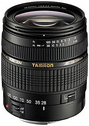 Объектив Tamron AF 28-200mm F/3.8-5.6 XR Di Aspherical [IF] MACRO Pentax KAF