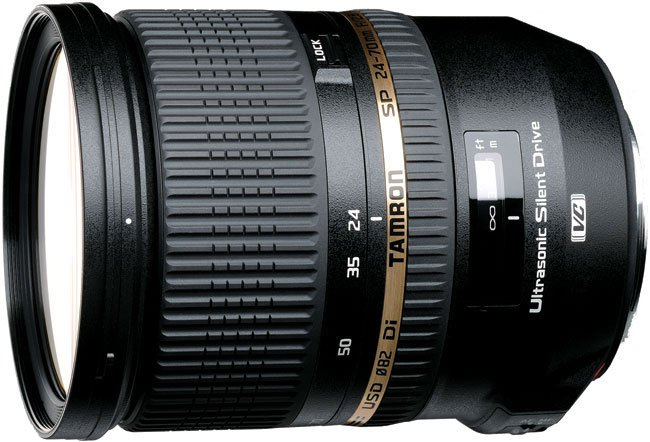 Объектив Tamron SP 24-70mm F/2.8 Di VC USD Canon EF