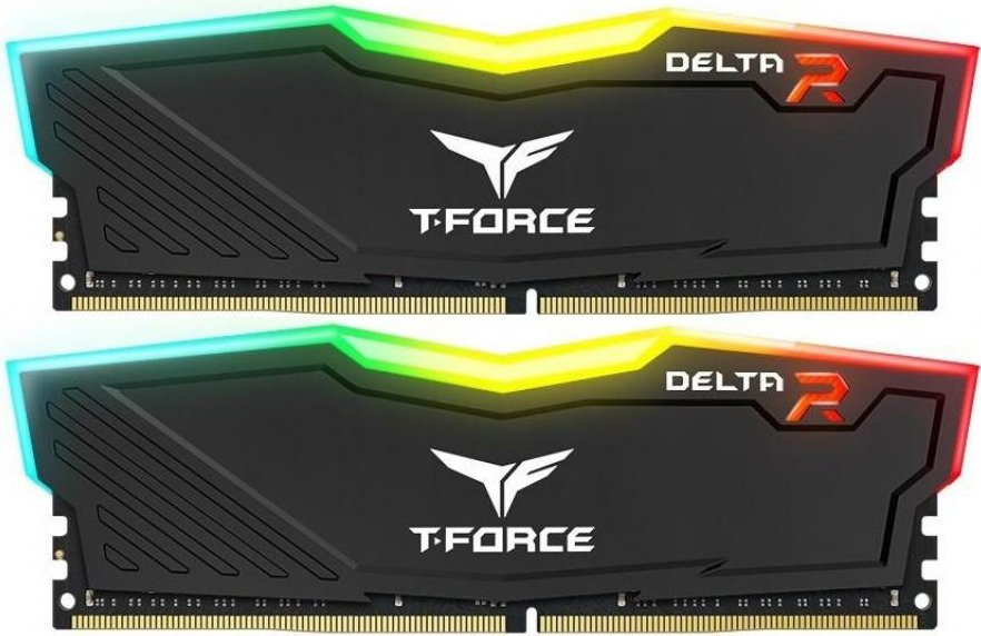 Комплект памяти Team Delta RGB TF3D432G2400HC15BDC01DDR4 PC4-19200 2x16Gb фото