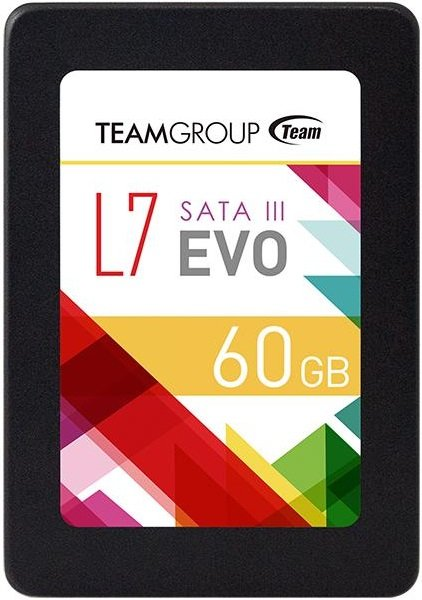 Жесткий диск SSD Team L7 Evo (T253L7060GTC101) 60Gb