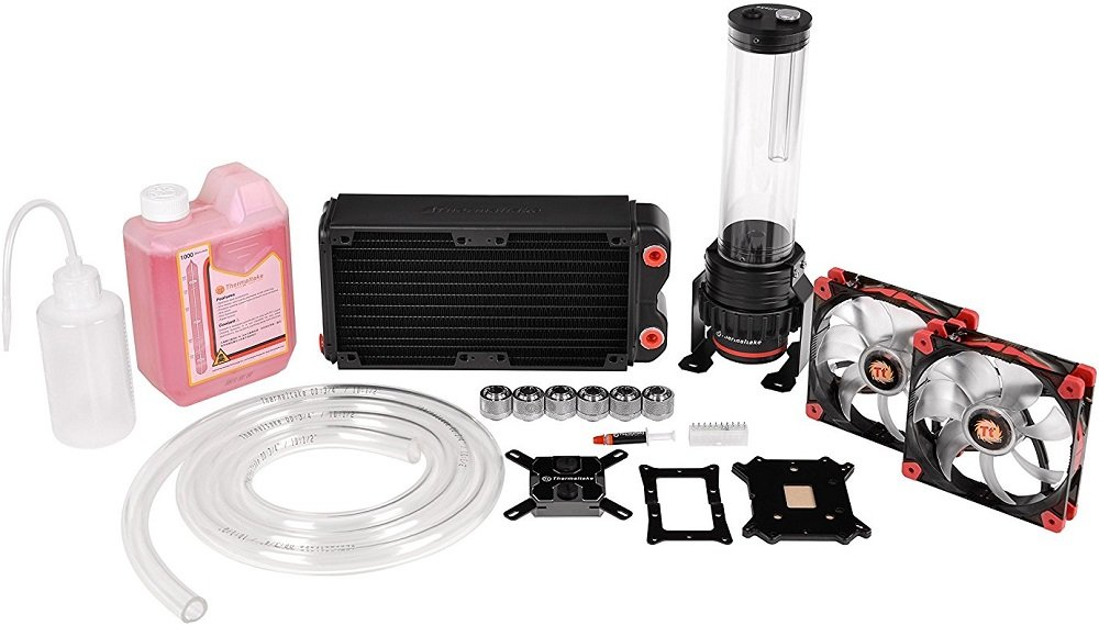 Система водяного охлаждения Thermaltake Pacific RL240 Water Cooling Kit (CL-W063-CA00BL-A)