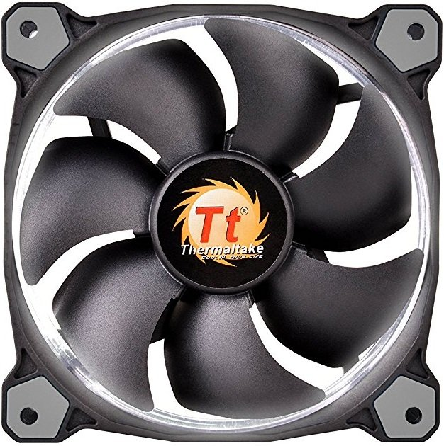 Вентилятор Thermaltake Riing 12 LED White (CL-F038-PL12WT-A)