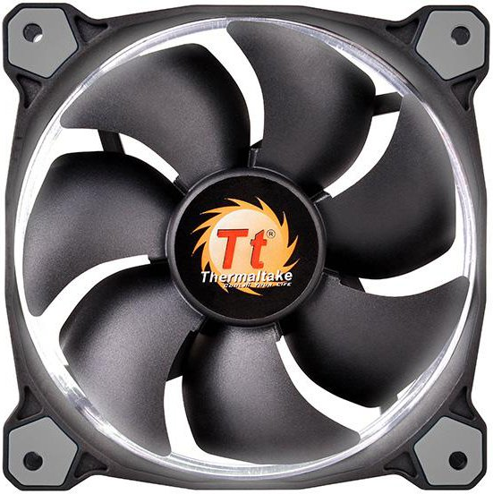 Вентилятор Thermaltake Riing 14 LED White (CL-F039-PL14WT-A)