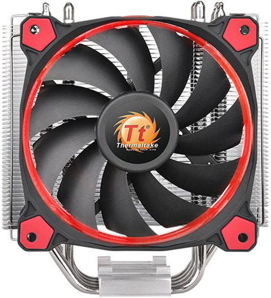 Кулер для процессора Thermaltake Riing Silent 12 Red (CL-P022-AL12RE-A) фото