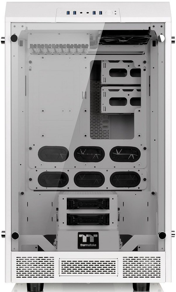 Корпус для компьютера Thermaltake The Tower 900 Snow Edition (CA-1H1-00F6WN-00)