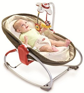 Шезлонг Tiny Love Rocker Napper 3-in-1