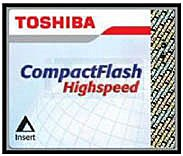 Карта памяти Toshiba Compact Flash High Speed 512MB