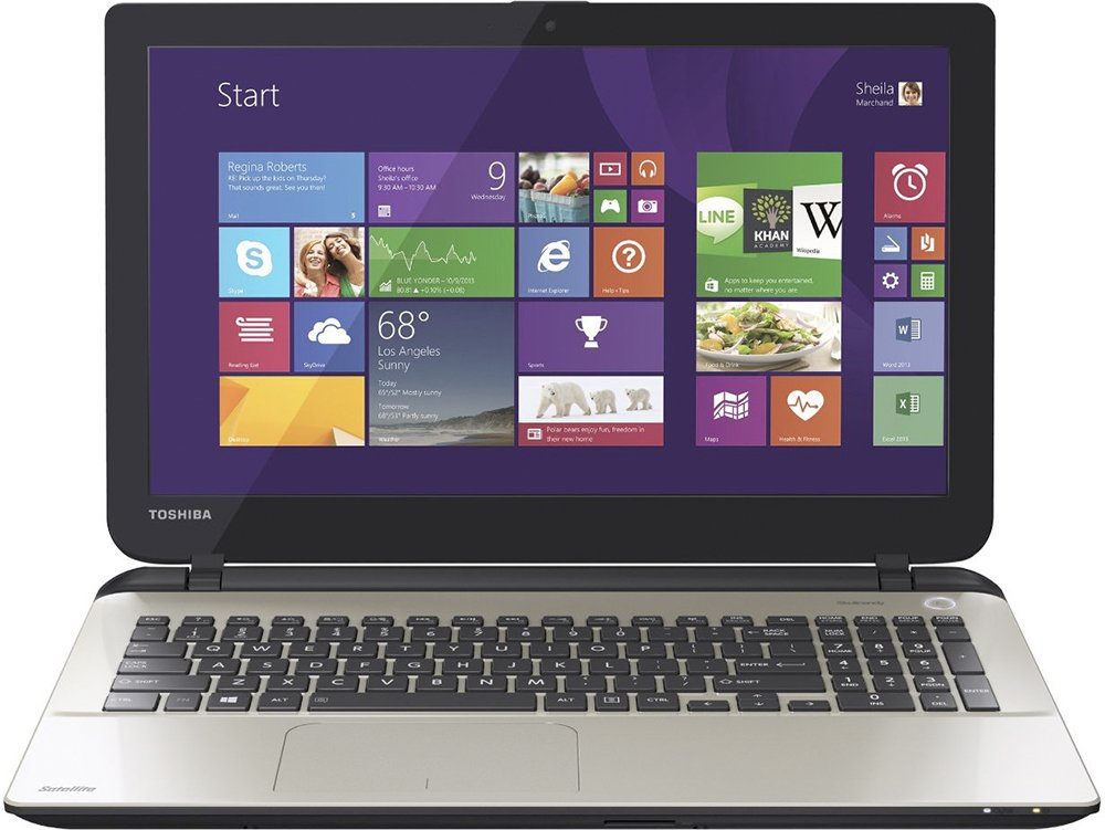 Ноутбук Toshiba Satellite L50-B-1WP фото
