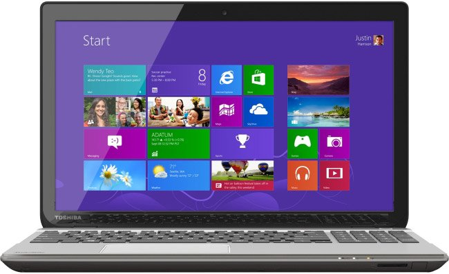Ноутбук Toshiba Satellite P55-A5312 фото
