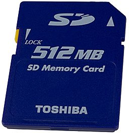 Карта памяти Toshiba Secure Digital Card 512MB