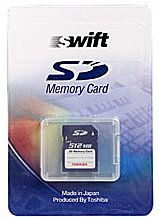 Карта памяти Toshiba Swift Secure Digital Card 512MB