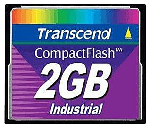 Карта памяти Transcend 45X Industrial High Speed CompactFlash Card 2GB TS2GCF45I-D
