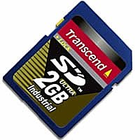 Карта памяти Transcend 80X Industrial SD Card 2GB TS2GSD80I