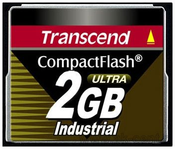 ����� ������ Transcend Compact Flash Industrial 2Gb 100x TS2GCF100I