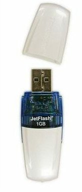 USB-���� ���������� Transcend JetFlash V20 1Gb