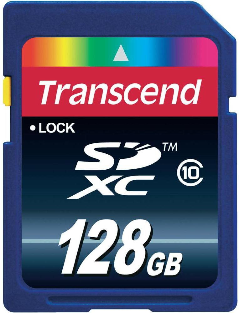Карта памяти Transcend Ultimate SDXC 128Gb (TS128GSDXC10) фото