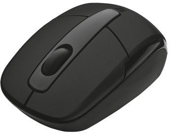 Компьютерная мышь Trust Eqido Wireless Mini Mouse - Black 16343