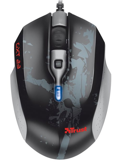 Компьютерная мышь Trust GXT 23 Mobile Gaming Mouse 18064