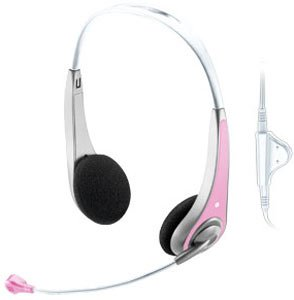 ��������� Trust InSonic Chat Headset - Pink