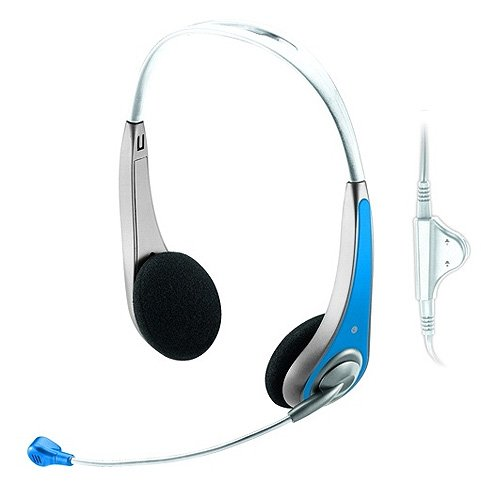 ��������� Trust InSonic Chat Headset Blue