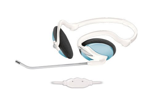 Гарнитура Trust InTouch Travel Headset Blue