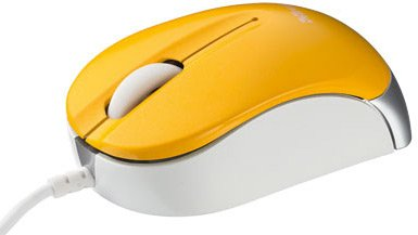 Компьютерная мышь Trust Nanou Micro Mouse - Yellow 16847