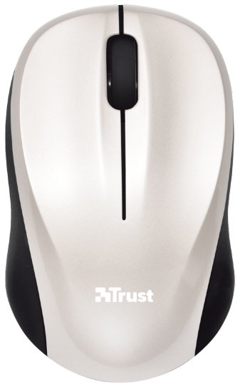 Компьютерная мышь Trust Vivy Wireless Mini Mouse White 18476
