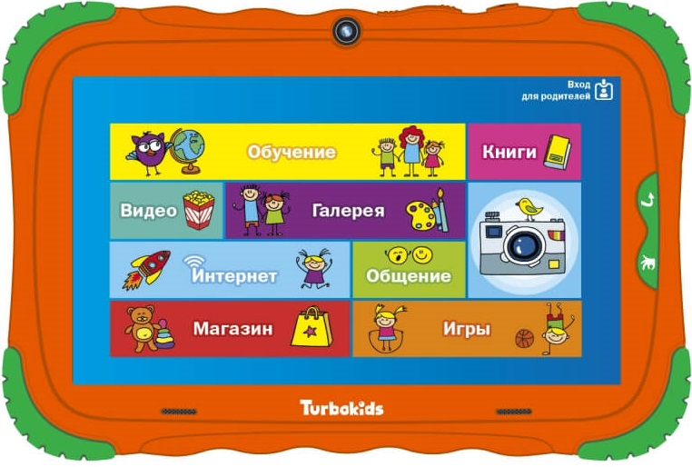 Планшет Turbopad TurboKids S5 16GB Orange фото