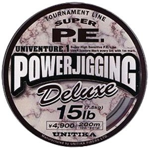 Леска Unitika Univenture Power Jigging PE 0,205