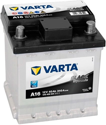 Аккумулятор VARTA BLACK Dynamic A16 (40Ah)
