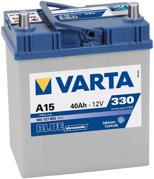 Аккумулятор VARTA BLUE Dynamic A15 540127033 (40Ah)