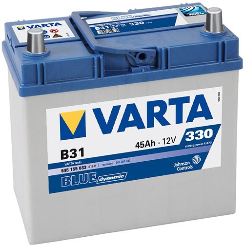 Аккумулятор VARTA BLUE Dynamic B31 545155033 (45Ah) фото