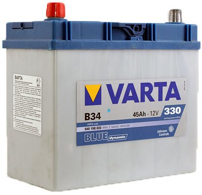 Аккумулятор VARTA BLUE Dynamic B34 545158033 (45Ah)