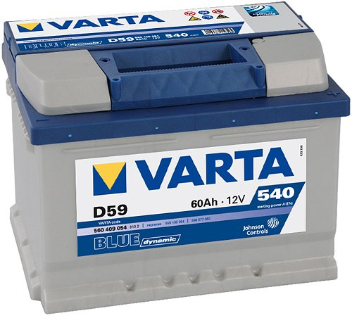 Аккумулятор VARTA BLUE Dynamic D24 560408054 (60Ah)