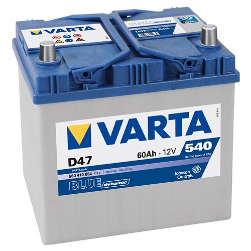 Аккумулятор VARTA BLUE Dynamic D47 560410054 (60Ah) фото